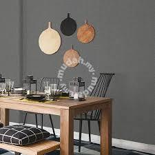 dark grey simple wallpaper for fully deco furniture u0026 decoration