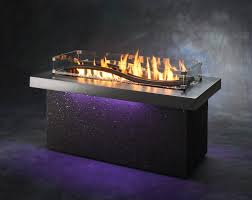 Living Flame Patio Heater by Outdoor Rooms Fire Pit Tables Electric Fireplaces