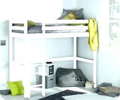 bureau 2 places lit mezzanine bureau bois blanc lit mezzanine bois parme blanc
