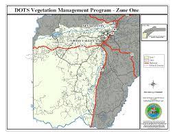 Nevada County Map Road Maintenance Nevada County Ca