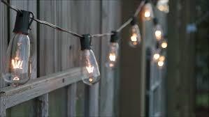 Edison Lights String by Edison Bulb String Lights Window Stock Footage Video 24442433