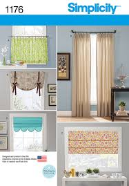 simplicity 1176 window treatments