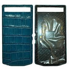 blackberry porsche design porsche design leather battery door cover for blackberry porsche