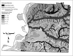 Counties In Tennessee Map by Update Of Urban Seismic U2010hazard Maps For Memphis And Shelby County