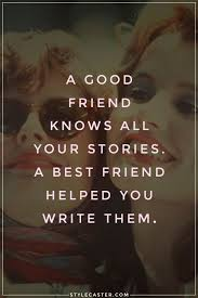 Seeking For Friendship A Friend Knows All Your Stories A Best Friend