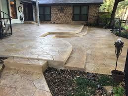 Photos Of Concrete Patios by Decorative Concrete Service Concrete Craft