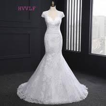 compare prices on mermaid cap sleeve wedding dresses online