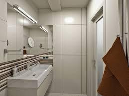 basement bathroom ideas pictures contemporary basement bathroom ideas with awesome long narrow mirror