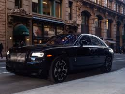 roll royce royles rolls royce ghost black badge best features for passengers
