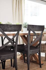 how to build a dining room table with leaves x brace farmhouse table free plans cherished bliss