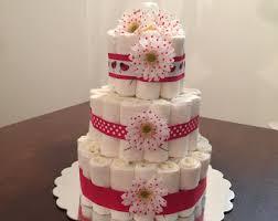 Diaper Cake Bathtub Diaper Cake Lady Bug Diaper Cake Girls Diaper Cake Lady Bug