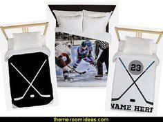 Hockey Bedding Set Hockey Theme Bedding Set Duvet Or Comforter Hockey Bed Sets