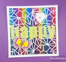 Deco Foil Happy Foiled Card With Altenew U0026 Deco Foil Transfer Gel