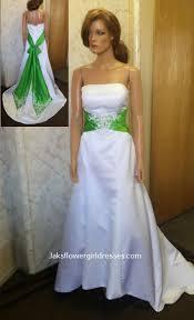 ivory red wedding dresses
