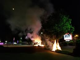 Mor Furniture Portland Oregon by Mortar Firework Destroys Landscaping At Mor Furniture