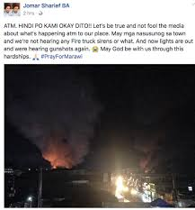 mediapost siege social breaking threatening situation in marawi city shared by
