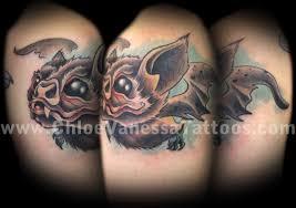 Off The Map Tattoo Cute Baby Vampire Bat Tattoo By Chloe Vanessa Tattoonow