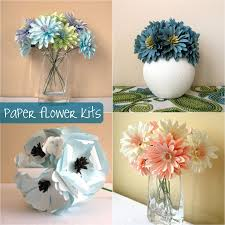 bouquet diy down and out chic diy paper flower bouquets