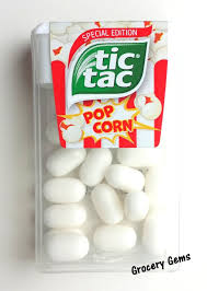 tic tac grocery gems review tic tac popcorn