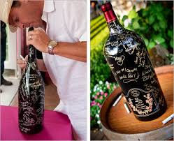 wine bottle guestbook wine bottle wedding guest book for the details check out