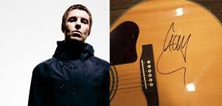 Partially Blind Signed Liam Gallagher Guitar Stolen From Partially Blind Pensioner