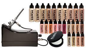 professional airbrush makeup machine airbrush makeup starter kit mugeek vidalondon