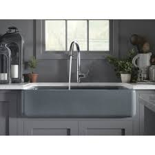 Stainless Steel Kitchen Canisters Sinks Oversize Stainless Steel Apron Farmhouse Sink Granite