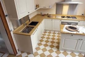 k che bodenfliesen küche fliesen ideen mit keramik beige weiß farbe