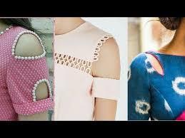 shoulder cut neck design shoulder cut sleeves design 2017