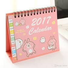 small desk calendar 2017 2018 office 2017 desktop cartoon small desk calendar calendar cute