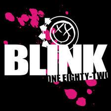 Blink 182 Halloween Shirt by Blink 182 Band Logo Rub On Sticker Red