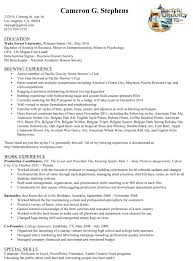 Resume For Educators Example Of A Teacher39s Resume In High