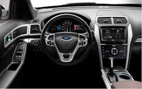 Ford Explorer Interior Dimensions The 2014 Toyota Highlander Vs The Ford Explorer And Honda Pilot