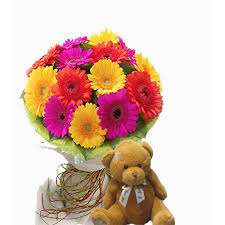 Teddy Bear Delivery Teddy Bear Delivery Inabanga Bohol Teddy Bear With Gerberas 27