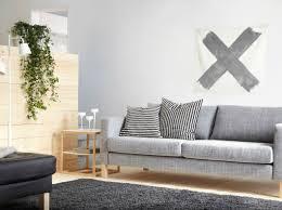 canapé gris clair kivik sofa and chaise fresh canapé 3 places karlstad avec housse