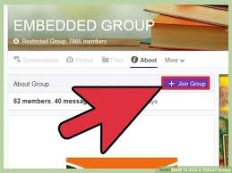 Image titled Join a Yahoo  Group Step   wikiHow