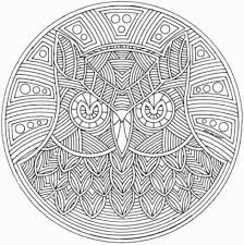 printable mandala coloring pages adults 21065
