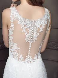 Cap Sleeved Crepe Sheath Wedding Dress David U0027s Bridal Wedding Dress With Back Detail Vosoi Com