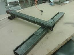 diy biesemeyer table saw fence aluminum guide rails for tablesaw fence by jellywerker