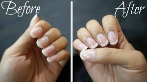 how to get perfect shiny nails without polish youtube
