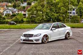 mercedes c class coupe tuning mercedes w204 c class stance style benztuning