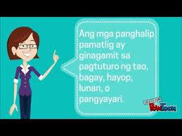 filipino panghalip pamatlig youtube