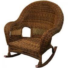 Resin Wicker Rocking Chair Classic Coastal Hampton Wicker Rocker Wicker Com