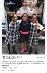 the boston police department did a bad tweet