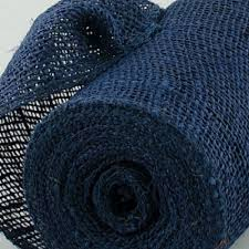 wholesale burlap ribbon 8 inch navy bluecolored burlap ribbon wholesale burlap ribbon