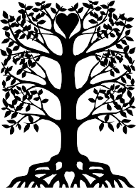 clipart tree with roots