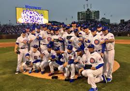 chicago cubs receive their championship rings in moving