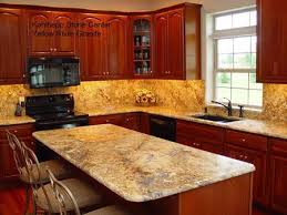 light cherry kitchen cabinets and granite yellow river granite with light cherry cabinets ideas for
