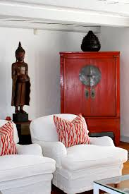 red wedding cabinet like the red accent would work with black