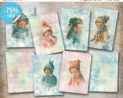 aceo cards for sale 75 sale baskets of flowers digital collage sheet